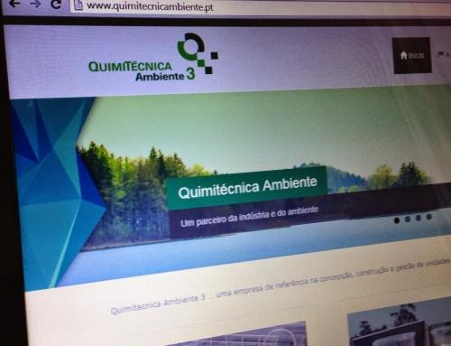 Novo website da Quimitécnica Ambiente 3